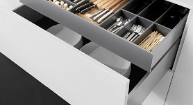 Vionaro Drawer-Silver Grey