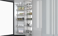 Pull-out Pantry System - Hinged Door